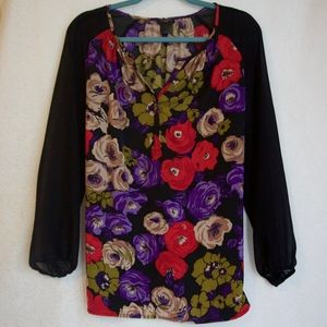 Ann Taylor LS Blouse Size Small